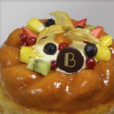 Baba Crème / Fruits